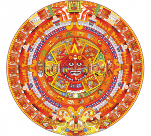 Calendrier astrologie Maya